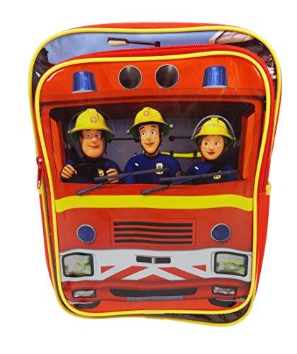 Trademark Fireman Sam Jupiter Red Backpack 9ltrs