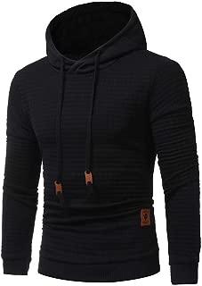 PASATO Men's 2018 New!Long Sleeve Autumn Winter Hoodie Hooded Sweatshirt Tops Jacket Coat Outwear Top Blouse Sale