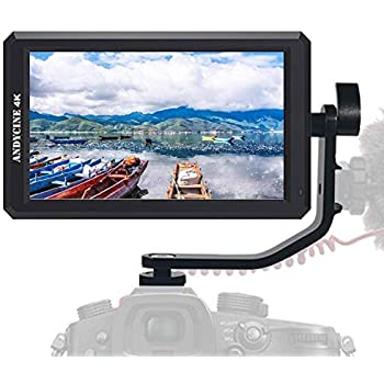 ANDYCINE A6 5.7 Inch HDMI Field Monitor 1920x1080 DC 8V Power Output Swivel Arm Compatibel for Sony,Nikon,Canon DSLR and Gimbals