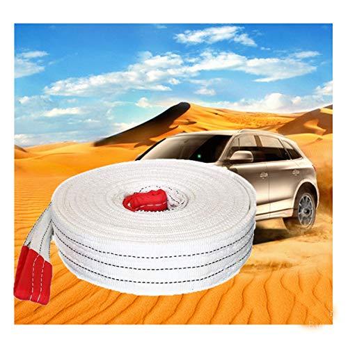 QDTD Abschleppseil, 5 Meter, 15 Tonnen Hochleistungs-Abschleppgurt Mit Haken, Hochfestes Notfall-Abschleppseil für PKW, LKW, Jeep, ATV und SUV