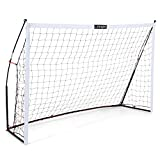 Portable Soccer Goals for Backyard, Lightweight Soccer Net with Pre-Connected Posts, Carry Bag - Premium...
