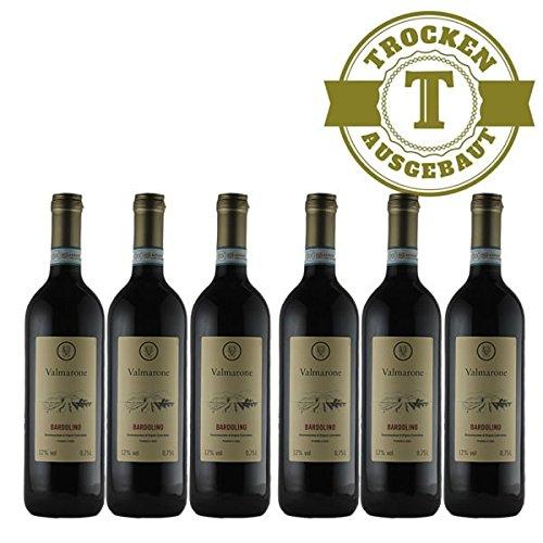 Rotwein Italien Bardolino trocken (6 x 0,75l)