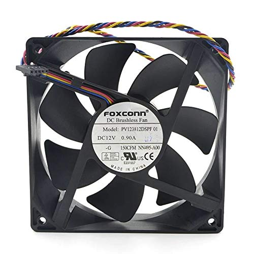 for FOXCONN PV123812DSPF 01 12CM 12V 0.90A 12038 4-Wire PMW Speed Control Fan