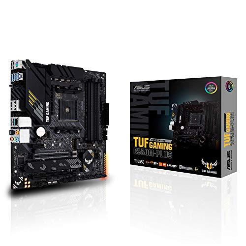 ASUS AMD B550 搭載 AM4 対応 マザーボード TUF GAMING B550M-PLUS 【MicroATX】