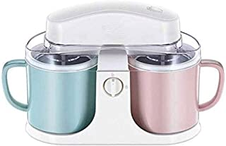 RFSTGYU Electric Ice Cream Maker Home Ice Cream Machine Mini Small Automatic Yogurt Machine Ice Cream Machine