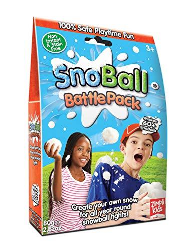 Zimpli Kids 5444 5445 Snoball Battle Pack, weiß, 1 Bath
