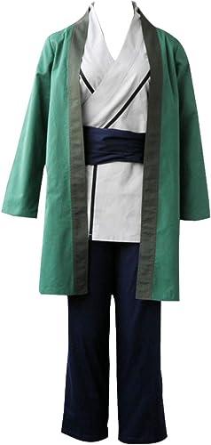 Mtxc Femmes Naruto Cospaly Costume Senju Tsunade 1¨¨re g¨ n¨ ration Taille XXXL Plus Vert