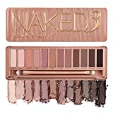 YOU LOOK BETTER NAKED - Urban Decay Naked3 Eyeshadow Palette features 12 rose-hued neutrals in ultra-smooth mattes, gorgeous pearls, and glimmering metallics that work with every eye color and skin tone. HIGH-PIGMENT SHADES - Naked3 palette shades in...