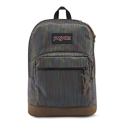 JanSport Right Pack Digital Edition Laptop Backpack - Multi Color Woven Stripe