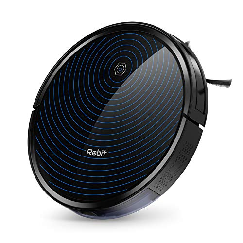 """Robit R3000 Robot Vacuum Cleaner, 2500Pa Suction, 2.83"""" Ultra Thin, Route Plan, Quiet & Slim, Long Runtime & Self-Charging Robotic Vacuum Cleaner for Pet hair, Hard Floor, Carpets"""