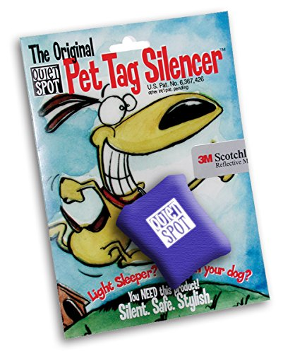 Quiet Spot Pet Tag Silencer (Blue)