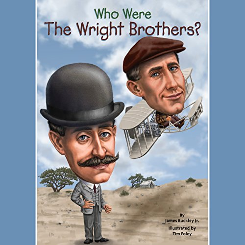Who Were the Wright Brothers? audiobook cover art