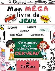 Mon MEGA livre de JEUX