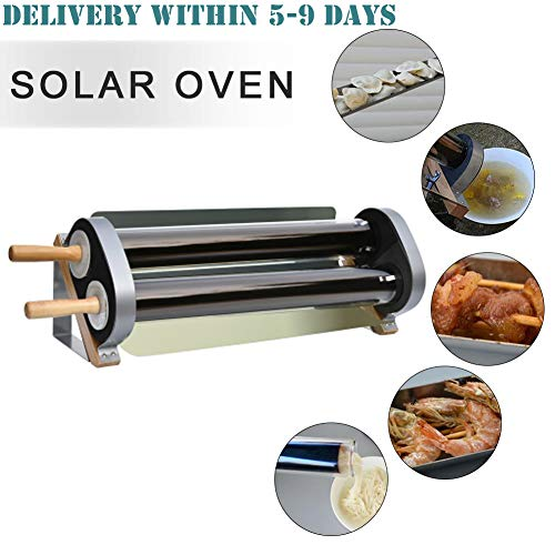 YMJJ Integrierter Outdoor-Solarkocher Tragbarer Parabol-Solarkocher Mit Effizienterem Outdoor-Solarkocher