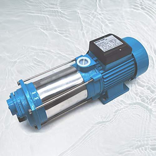1300/2200/2500W Kreiselpumpe Hauswasserwerk Gartenpumpe Pumpensteuerung Wasserpumpe 5-stufige Zentrifugalpumpe, Schutzklasse IP44 (2500W)