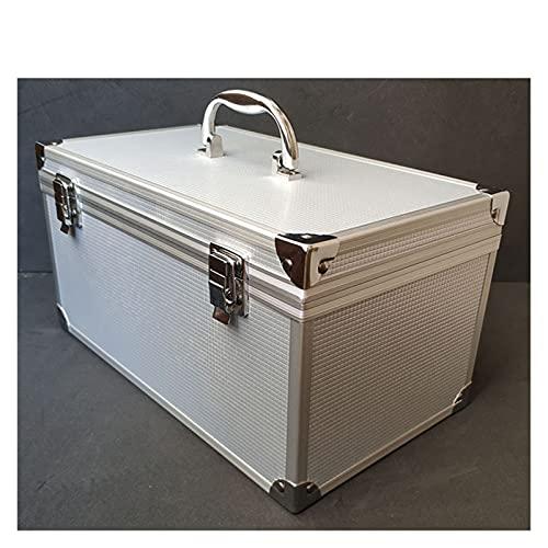30x17x16cm Estuche de herramientas de aleación de aluminio Portátil Kit de vehículos al aire libre Caja Equipos Equipo de seguridad Equipo de instrumentos Maleta Maleta Herramienta al aire libre Box M