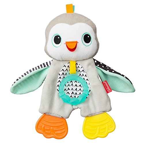 Big Save! Infantino Cuddly Teether, Penguin