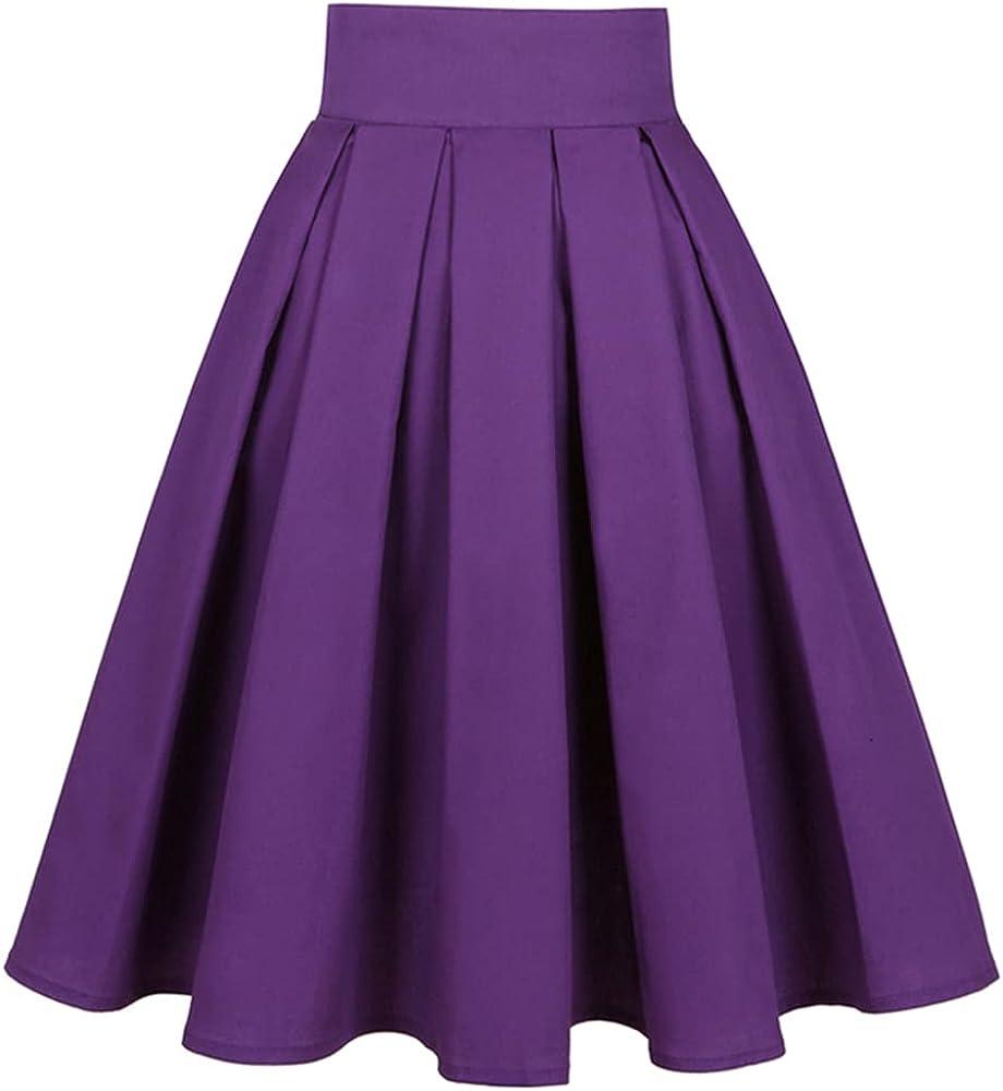 NP Summer Pleated Short Skirt Waist 50s