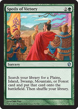 Magic the Gathering - Spoils of Victory - Spoils of Victory - Commander (2013 Edition)