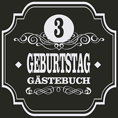 3 Geburtstag Gästebuch: Cooles Geschenk zum 3. Geburtstag Geburtstagsparty Gästebuch Eintragen von...