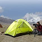 Bessport Camping Tent 1 and 2 Person Lightweight Backpacking Tent Waterproof Two Doors Easy Setup Tent for Outdoor… 9