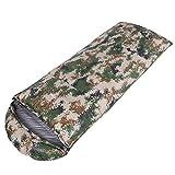 Schlafsack für Erwachsene, Outdoor, Camping, wasserdicht, reißfest, 320T Nylon,...