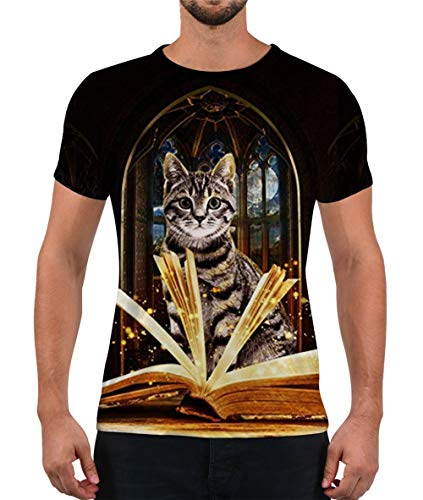 Alistyle Mens Cat Print...