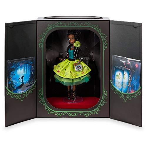 DS Disney Store Tiana La Princesa y el ranojo muñeca 30 cm Edición limitada Original Premiere Series Disney Designer Collection 1/4000