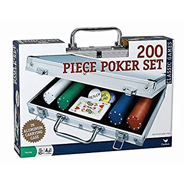 200 pc Poker Set In Aluminum Case (Styles Will Vary)