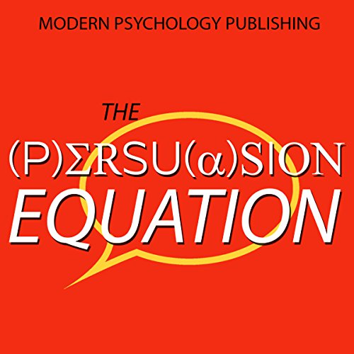 The Persuasion Equation audiobook cover art