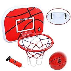 "professional Jerry basketball hoop on the door (15 ""x 11.5 ″) A combination of wall-mounted basketball goals Indoor ball hoop…"