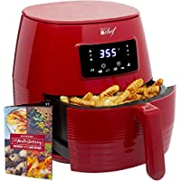 Deco Chef Digital 5.8QT Electric Healthier & Faster Cooking Air Fryer