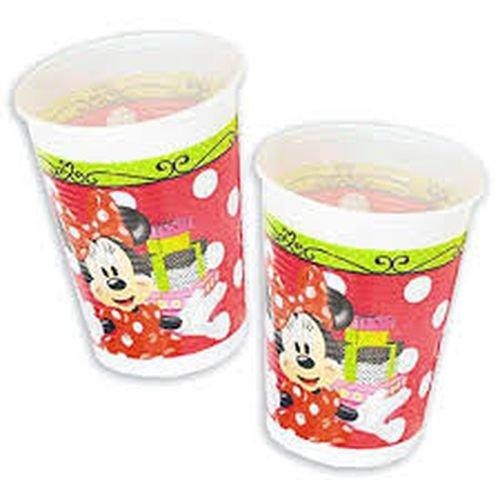 Minnie Mouse Plastik Becher, Rot