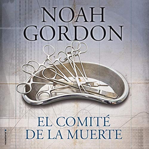 Diseño de la portada del título El Comité de la Muerte