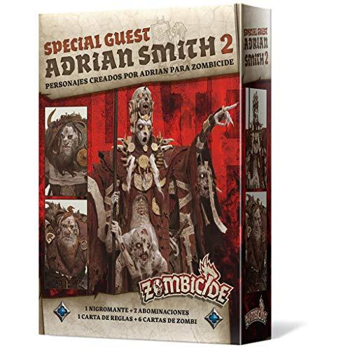 Edge Entertainment- Zombicide Black Plague - Green Horde Special Guest: Adrian Smith 2 ES ES, Color (EECMZB42)