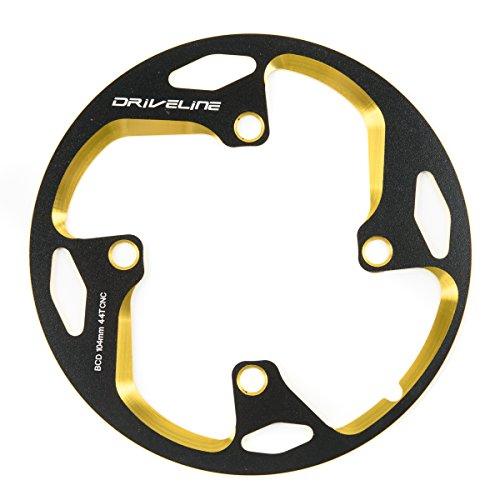 Driveline ドライブライン スーパーガード M2モデル 44T 黒金 ブラックゴールド Black/Gold 自転車用 バッシュガード チェーンリングガード BCD104mm MTB 【正規輸入品】