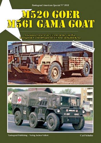 Tankograd 3018 M520 Goer - M561 Gama Goat Knickgelenk-Lastkraftwagen der US Army im Kalten Krieg