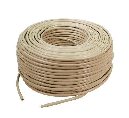 BIGtec 100m Verlegekabel Installationkabel Datenkabel Netzwerkkabel Ethernet Kabel CAT.5e ideal für Gigabit Netzwerke und ISDN Leitungen