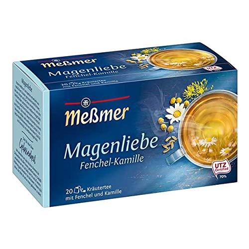 Meßmer Magenliebe Fenchel-Kamille, 20 Beutel, 50 g