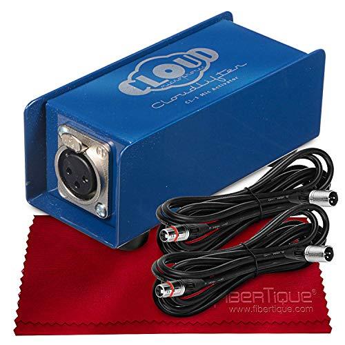 Cloud Microphones Cl-1 Cloudlifter 1-Channel Mic Activator Bundle with Xpix Cables