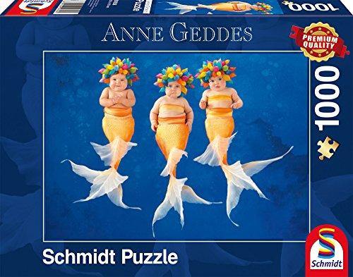 Schmidt Spiele Puzzle per Adulto: La Danza delle Ondine, 1000 Pezzi