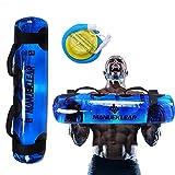 M MANUEKLEAR Aqua Bag Sandbag Workout Bag for Fitness Training Heavy Duty Water Weights Tanks Bag