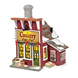 Department 56 Living Village The Country Coffee Café Lit Building, 7.6 Inch, Multicolor
