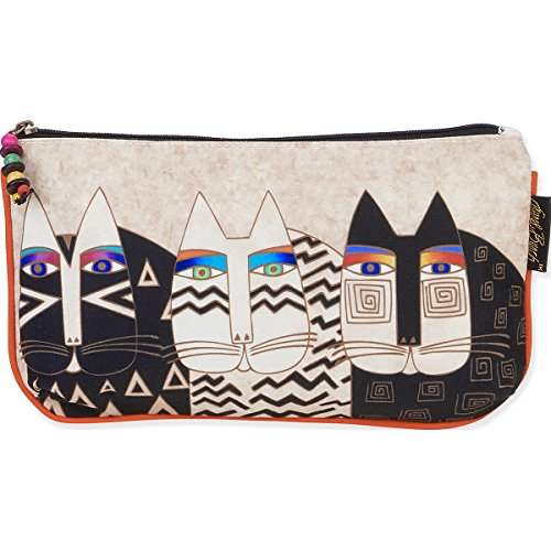 Laurel Burch Laurel Burch Kosmetiktasche Set, Wild Katzen, 3er Pack