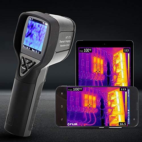 Termocamera,-20~300 ° C Termometro a Infrarossi,Risoluzione 32 * 32,con adattatore e Cavo...