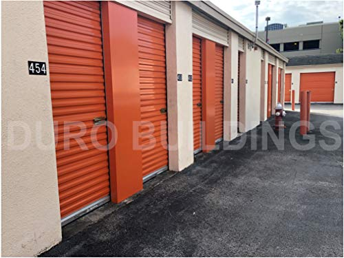 Read About DuroDOORS Janus 3'6x8' Self Storage 750 Series Wind Rated Steel Roll-Up Door