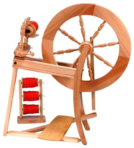 Ashford Traditional Spinning Wheel, Single Drive,  Lacquered Finish
