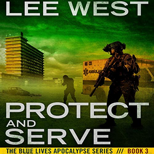 Protect and Serve audiobook cover art