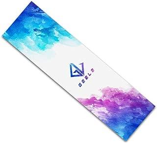 """Rayauto 33""""x 9"""" Sport Outdoor Skateboard Penny Cruiser Board Double Warping Board Waterproof Diamond Griptape Sticker Deck Sandpaper"""