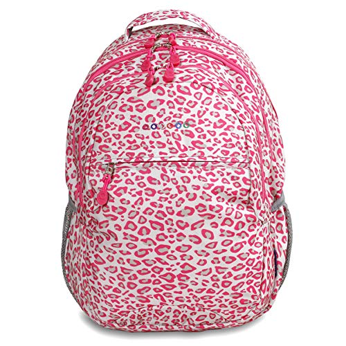 J World New York Cornelia Laptop Backpack Sac à Dos Loisir, 19 cm, 29.5 liters, Multicolore (Leopard)
